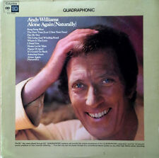 ANDY WILLIAMS - ALONE AGAIN (NATURALLY) - COLUMBIA LP - QUADRAPHONIC