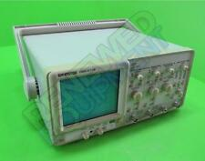 GW Instek GOS-6112 2-Channel 100MHz Curser Readout Analog Oscilloscope Tested