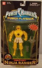 Mighty Morphin Power Rangers MMPR Power Playback Yellow Bear Ninja Ranger (MOC)