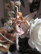 Jessica Galbreth MAUVE BALLERINA Fairy Ornament Munro Faerie Glen Fairies NEW