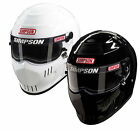 Simpson Speedway RX Helmet/Lid SA2015 White or Black Oval/Track - All Sizes