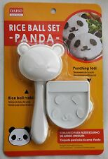 Rice Ball Mold Panda Shape & Seaweed Nori Punch Bento Making Tool Kit Onigiri