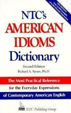 Ntc's American Idiom Dictionary (National Textbook Language Dictionaries)