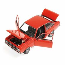 MINICHAMPS - 150084100 FORD ESCORT MK2 1.3 LHD DARK ORANGE 1:18 SCALE