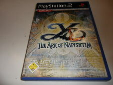 PlayStation 2  PS 2  Ys - The Ark of Napishtim