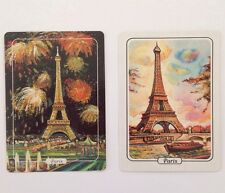 Paris Effiel Tower Swap Cards Set Of Two