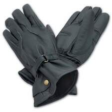 Leather Gloves Gents Men Suitable for Driving & Winter Wollen Fur Coating Inside