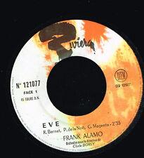 """45T 7"""" : Frank Alamo: Eve. riviera. A2"""