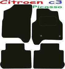 Citroen c3 Picasso DELUXE QUALITY Tailored mats 2008 2009 2010 2011 2012 2013 20