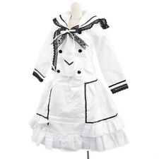 Cute Doll White& Black Lace Dress Outfit For 1/6 SD DOD AOD BJD Doll Dollfie