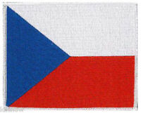 "Czech (embroidered) Patch 5""x 4"" (12 x 10CM) approx"