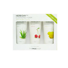 THE FACE SHOP Herb Day 365 Cleansing Special Set freebie