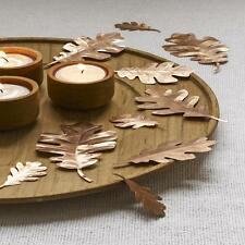 Design Ideas COPPER CASSINI LEAVES set 10 fall foliage table decoration 5097011