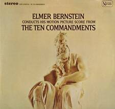 SOUNDTRACK LP ELMER BERNSTEIN TEN COMMANDMENTS