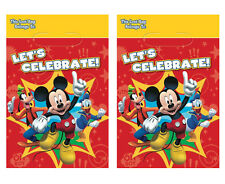 16ct Disney Mickey Mouse Loot-Favor-Treat-Gift Bags Boys Birthday Party Supplies