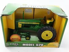 Ertl 1956-1958 John Deere Model 520 Farm Tractor 1:16 & 1:64 Scale Diecast Toy