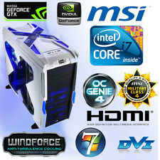 Gamer PC Intel Core i7 6700K-8GB-SSD-Nvidia 4GB GTX960 G1 Gaming OC-Win10 PRO