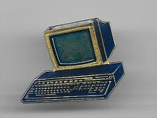 Vintageol Old Table Top PC Computer  old enamel pin