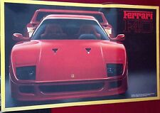 Fujimi Vintage 1/16 Enthusiast Model Ferrari F40 Model Kit 100% Open Box