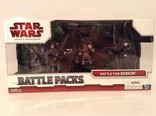 Star Wars Battle For Endor Figure Battle Packs Legacy Collection Rare New Ewoks