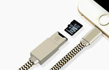 2in1 USB iflash U disk Data Cable Charging Memory 8 pin Reader For iPhone 5 6S