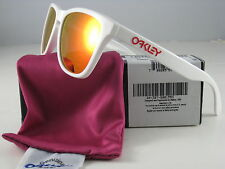 Oakley FROGSKINS Limited Edition Polished White w/Ruby Iridium  24-307