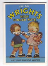 ad3494 - Wrights Rich Ginger Nuts - Modern Advert Postcard