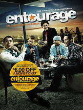 Entourage: The Complete Second Season (DVD, 2015, 3-Disc Set)