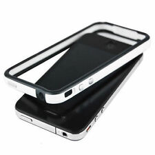 Dual Colour Bumper Case for Apple iPhone 4 Black/White