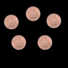 Vanuatu lot 5 Coins, 5 Vatu * 5, 2015, KM#5, UNC
