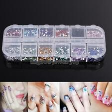 Popular Acrylic Rhinestone Nail Art Transfer Stickers Manicure Tips Decal