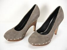 DOLCE VITA HOLT SUEDE STUDDED PLATFORMS SLIP ON PUMPS SHOES WOMEN'S 8.5