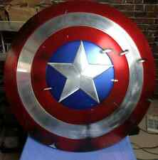 [ Metal Version ] CATTOYS 1/1 Captain America Shield Prop Damaged Version