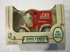 Ertl 1:25 Scale Ace Hardware 1905 Ford Delivery Car Coin Bank Diecast Metal