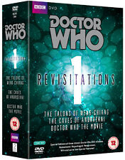 Doctor Who Revisitations (Vol. 1) NEW PAL Classic 7-DVD Set Tom Baker P. Davison
