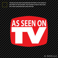 As Seen On Tv Sticker Decal Self Adhesive Vinyl  jdm euro #2