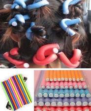 10Pcs HS89 Curler Makers Foam Bendy Twist Curls DIY Styling Hair Rollers NEW