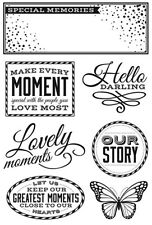 Kaisercraft - All That Glitters - 7 clear cling stamps
