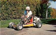 PEPPY CHAMPION CHIMP GO-KART STAR LAKE PLACID SHOW STERLING ALASKA NY POSTCARD