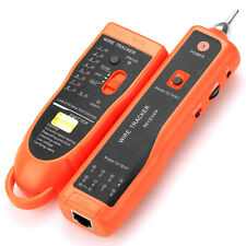 XQ-350 Network Cable Wire Line Tracker Tester Tone Generator For RJ45 RJ11