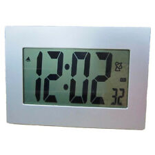 Extra Large LCD Display Atomic Table / Wall Alarm Clock - Large Numbers, Digital