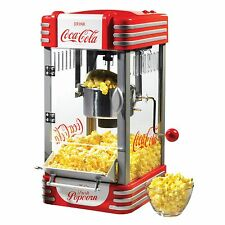 Nostalgia Coca-Cola Series Kettle Popcorn Maker NEW