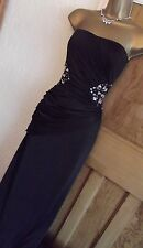 STUNNING ❤️JANE NORMAN  Size 10  £60 Evening Party Wiggle Dress Black