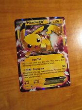 NM PIKACHU EX Pokemon Card PROMO Black Star XY84 Set Ultra Rare X&Y Legendary