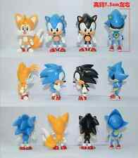 4pcs LOT Sonic the Hedgehog Mini Figure Loose for Gift Free Shipping