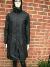 Crag Hoppers Waterproof  Ladies Black Coat UK size 12 EU 38 US 8