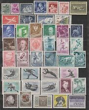 Austria - Mint Group from 1935 to 1974 (2 scans)