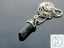 Rhyolite Crystal Point Pendant Natural Gemstone Necklace Healing Stone Chakra