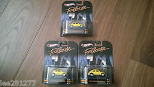 Hot wheels Footloose Movie Collectors 2012 Volkswagen Beetle Yellow