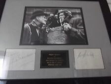 Steptoe and Son WILFRID BRAMBELL & HARRY H CORBETT hand signed framed mount